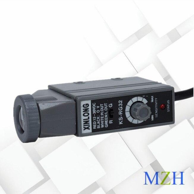 KS-RG22 Color Standard Sensor Color Standard Photoelectric Correction Electric Eye Bag Machine Photoelectric Switch
