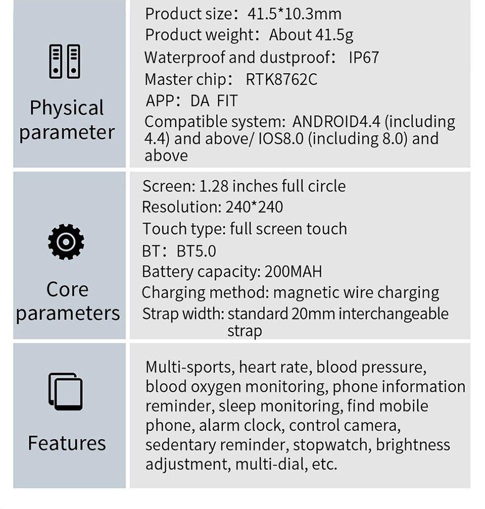 COLMI V23 Pro Temperature Women Smart Watch 13
