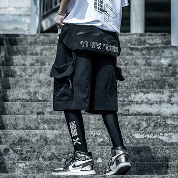 Hip Hop Streetwear Cargo Shorts