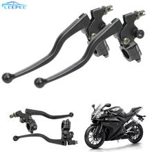 Cable Clutch-Levers Motorcycle Brake Right-Brake Left 22mm 1-Pair Handlebar Front Aluminum-Alloy