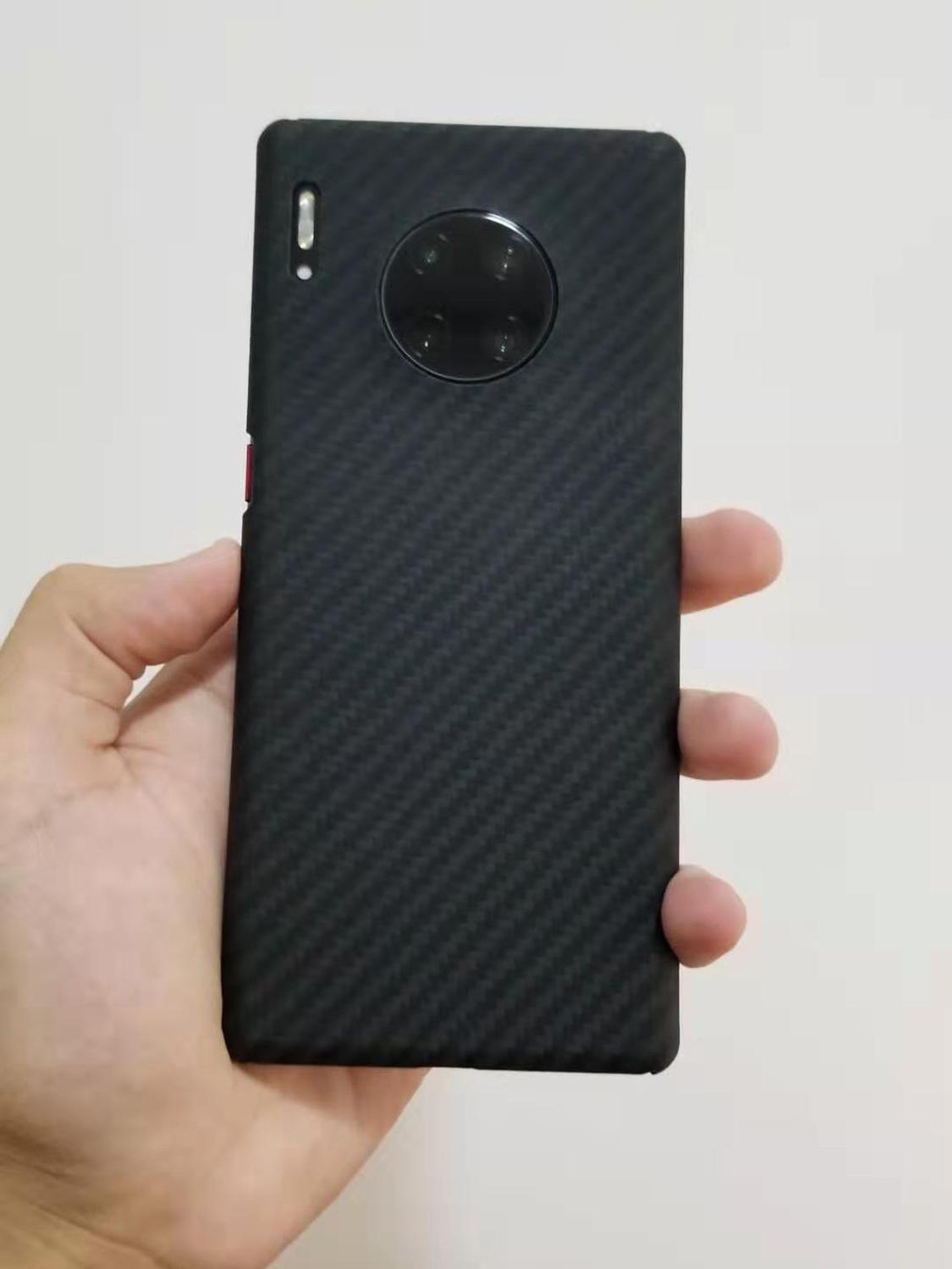 Carbon fiber Case Cover FOR Huawei Mate 20 PRO Mate 30 PRO Mate 20 X Mate20 Ultra-thin Business handmade