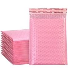 Padded-Envelope Mailing-Bag Bubble-Mailer Poly Self-Seal Light-Pink 50PCS
