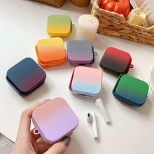 Силиконовый чехол разных цветов для xiaomi air 2 se наушников