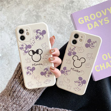 DISNEY 2021 Mickey Dumbo Silicone Case for IPhone 11 Pro Xs Max IPhone 11 11PRO Official Liquid Silicone 360 Full Face Mask