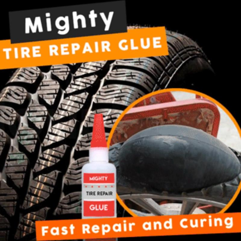 Mighty Tire Repair Glue Bike Tire Tool Inner Tube Puncture Repair Cold Patch Solution Glues