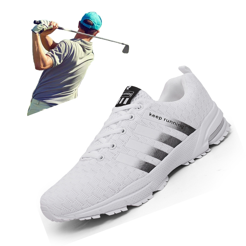 New Summer Men Women Golf Sport Shoes Big Size 35-47 Outdoor Golf Training Sneakers Lightweight Professional Mens Golf Trainers