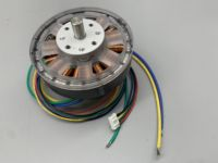 18N20P DC24V 100W Disc Permanent Magnet Three phase Brushless DC Motor / Motor Diy Feels With Hall