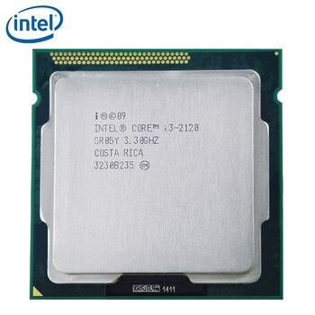 PC computer Intel Core i3-2120 i3 2120 Processor 65W 3M Cache 3.3GHz LGA 1155 Desktop CPU tested 100% working