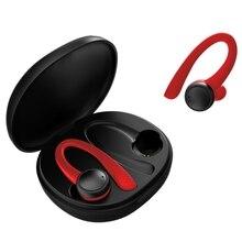 TWS 5.0 무선 블루투스 이어폰 T7 프로 HiFi 스테레오 무선 헤드폰 스포츠 헤드셋, 전화에 대 한 400 Amh 충전 상자.