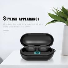 Bluetooth Wireless Earphone MINI with Charging Box Headphone HIFI In-Ear Waterproof Sport Earbuds Gaming Headset for Smart Phone