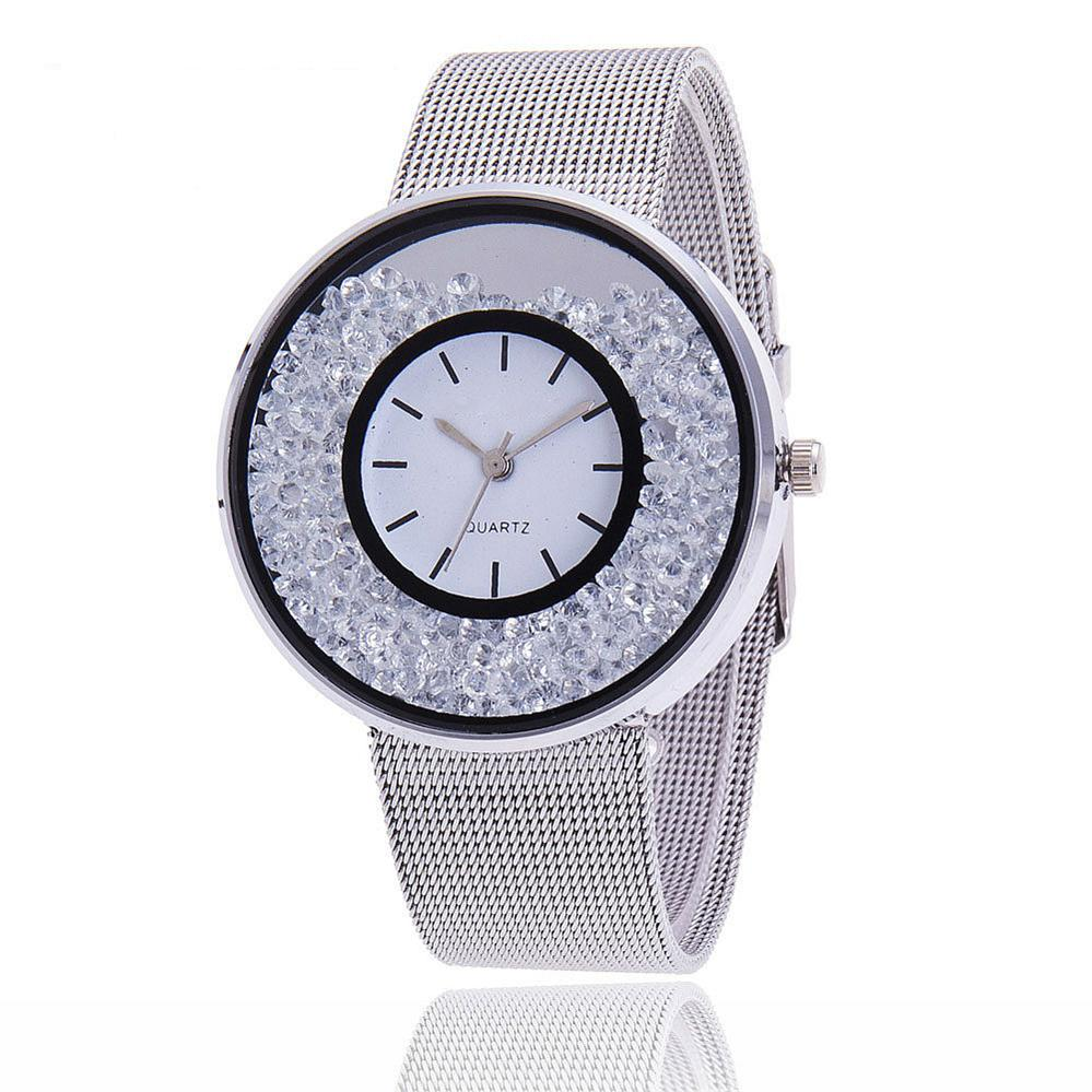 2019 Top Brand Women Luxury Gold & Silver Watch Ladies Fashion Band Dress Wristwatch Women Female Quartz Watches часы женские