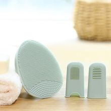 Face-Cleanser Exfoliating-Scrubber Silicone Massager Facial Manual Soft Brush Bristles