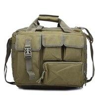 군사 노트북 핸드백 전술 나일론 어깨 가방 메신저 가방 서류 가방 야외 등산 하이킹 가방