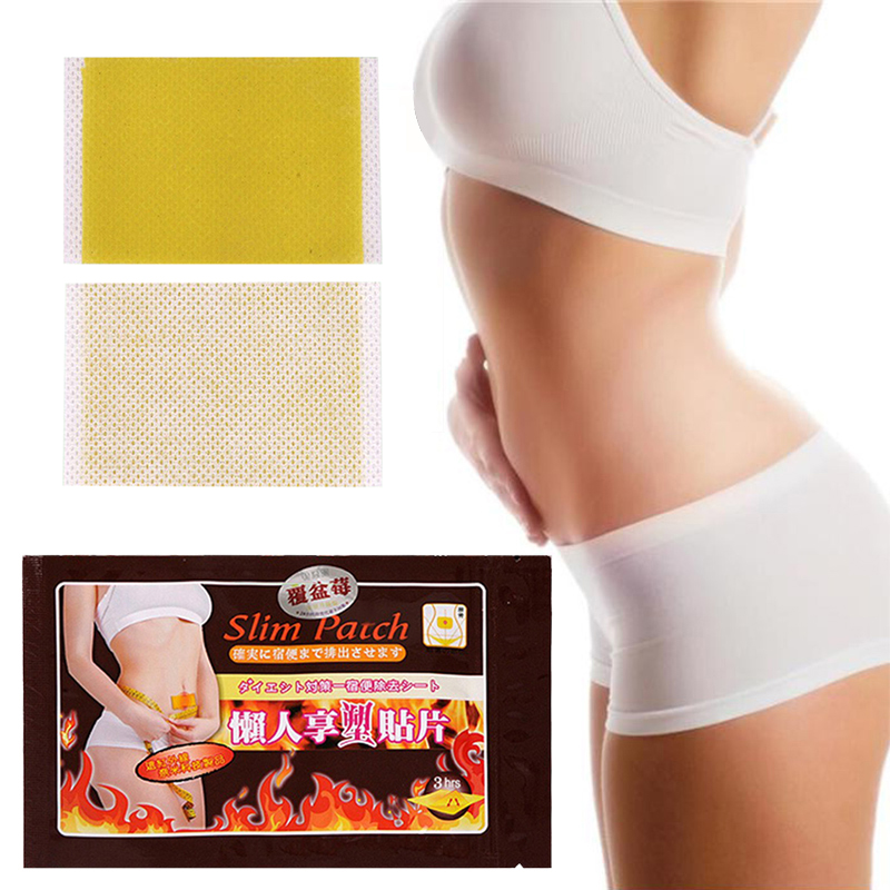 10/5/1pcs Slimming Patch Belly Slim Patch Abdomen Slimming Fat Burning Navel Stick Weight Loss Cellulite Fat Burner Toiletry Kit