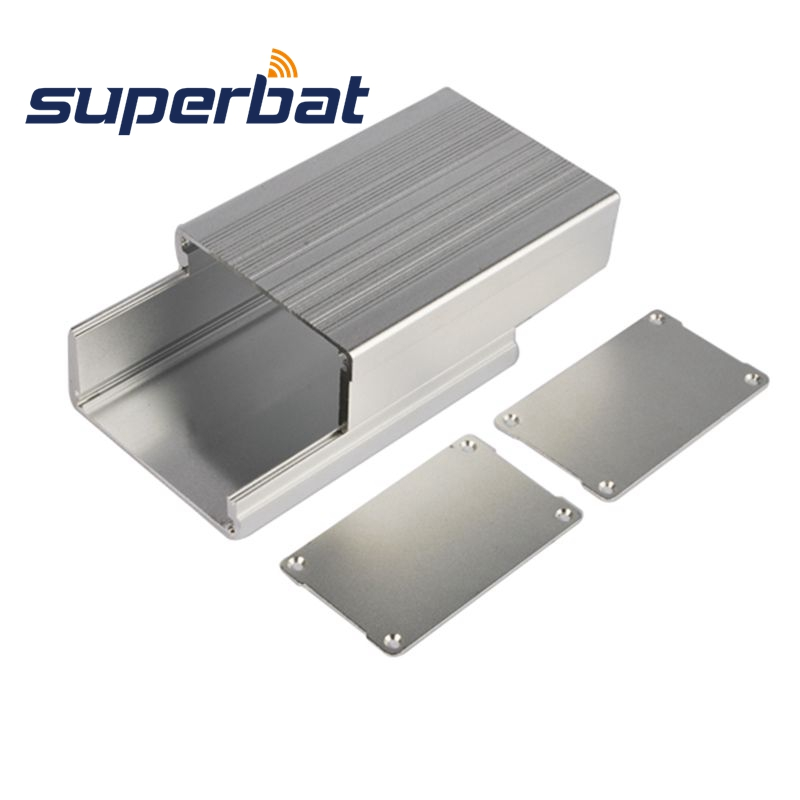 Superbat 110*73*47mm Aluminum Box Enclosure Case For Amplifier Instrument PCB Junction Box 4.33