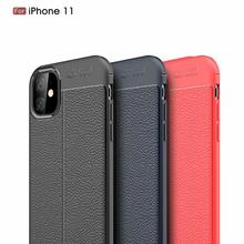 Dermatoglyph Soft Cover Full Protection Carbon Fiber TPU Silicone Phone For iPhone 11 11Pro MAX XS XR 8 7 6S Case