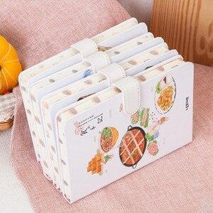 Image 4 - MIRUI חדש creative מזון זכור מזון כריכה קשה מחברת איור בתוך דף יד ספר יומן תלמיד בית ספר ציוד משרדי