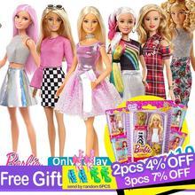 מקורי ברבי אופנה בובות מבחר האופנה בנות Reborn בובת תינוק נסיכת ילדה צעצועים לילדים Bonecas בובות Juguetes