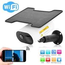 Camera Solar-Powered Wifi 1080P Waterproof HD IR Solor for TUYA Infravermelho Celular