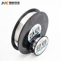 NK de acero inoxidable SS316L AWG 22 24 26 28 30 32 34 36 38 40 de calefacción rápida diy Bobina cable de vaporizador
