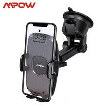 Mpow Soporte de teléfono para salpicadero de coche CA104, 2 niveles de succión, almohadilla de Gel lavable Universal para iPhone Xs Xr 8 Xiaomi 8 Huawei Samsung S9