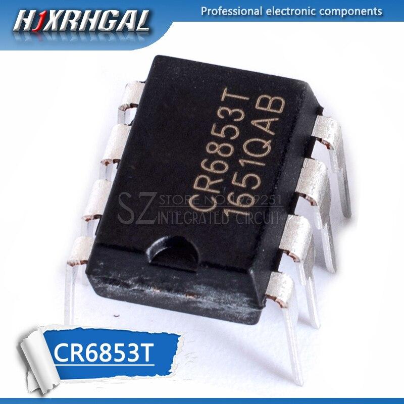 1pcs CR6853T CR6853 DIP8 DIP 6853