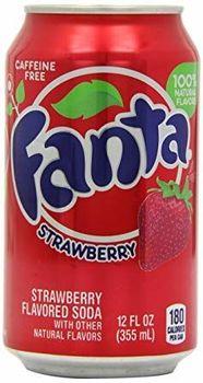 Fanta Strawberry 12 oz. (355 mL) - 24 Pack inkl. 6,00 Euro DPG-PFAND