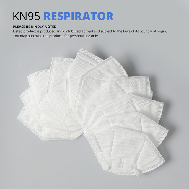 Fast shiping KN95 Mask ffp2 Face Mask Dust Mouth Masks FFP2 PM2.5 Protective Filter Respirator Reusable mask 1