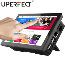 UPERFECT UPi06 raspberry Pi 7 Cal ekran dotykowy z przypadku przenośny Monitor 10 punkt, pionowy, obrót wyświetlacz LCD ekran