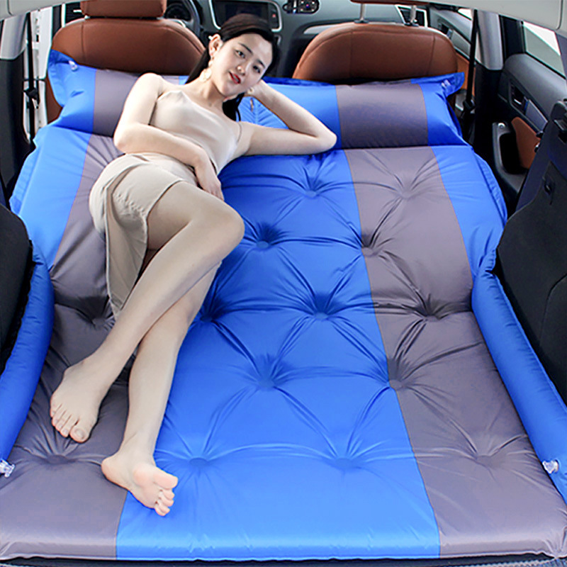 Car auto inflated mattress SUV special vehicle middle bed trunk traveling bed air cushion bed self driving traveling mattress|Car Travel Bed| |  - title=