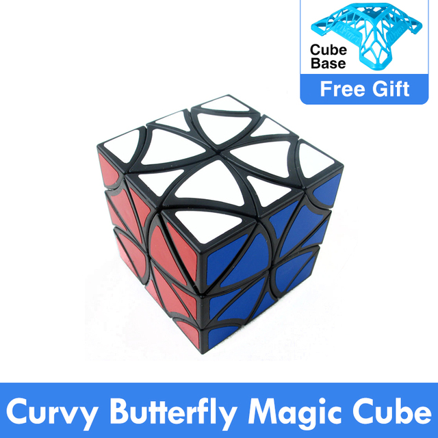 ZCUBE Curvy butterfly magic cube Twelve shaft flower Petals helicopter Cube Puzzle Education toys Drop Shipping
