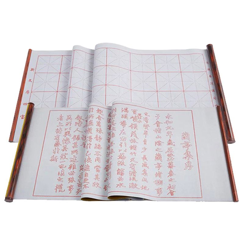 1.5m Reusable Chinese Magic Cloth Water Paper Calligraphy Fabric Book Notebook U1JA