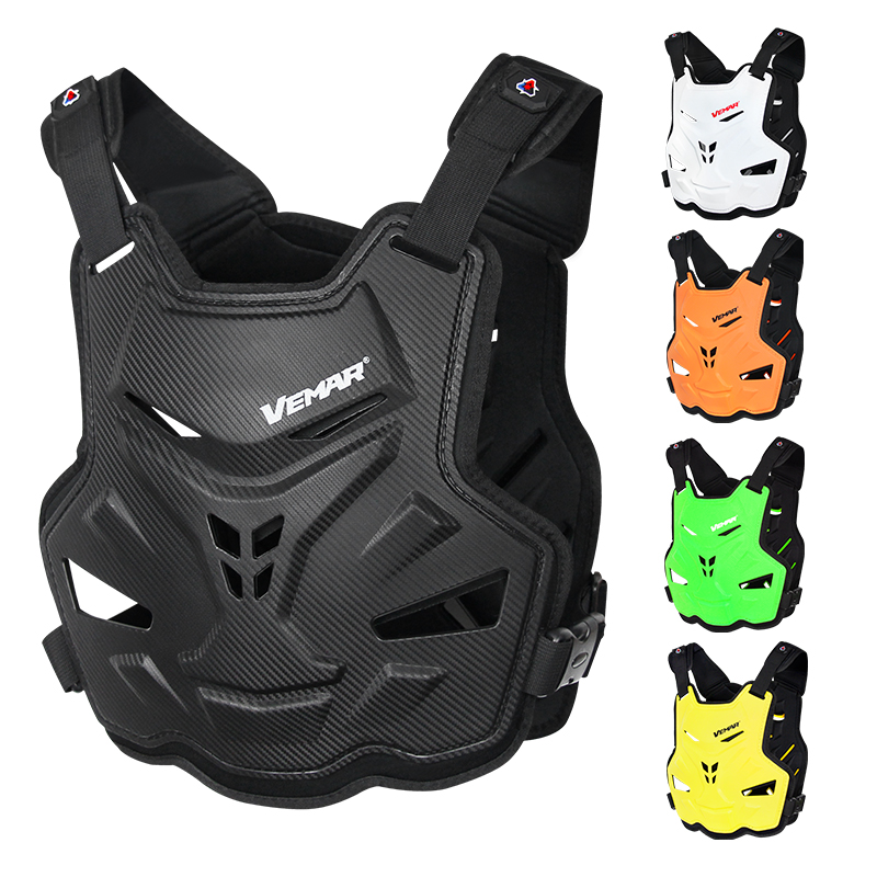 VEMAR Motorcycle Armor Vest Motorcycle Protection Motorbike Chest Back Protector Armor Motocross Racing Vest Protective Gear
