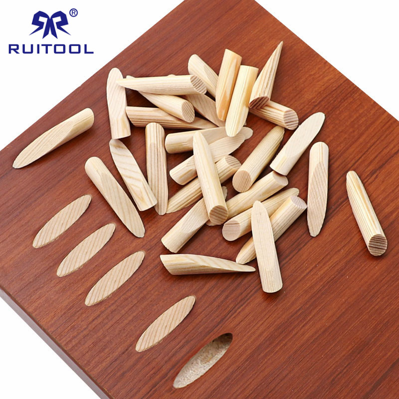 50pcs Pocket Hole Plugs 9.5mm Pine Wood Plugs Woodworking Furniture Jointing Accessories For Wood Drill Pocket Hole