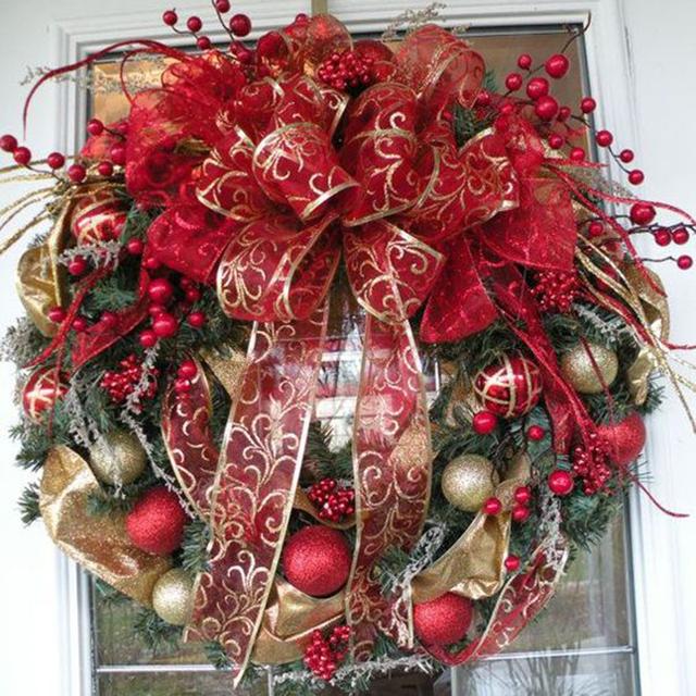 Christmas Rattan Decoration