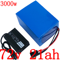72V 20AH Lithium battery pack 72V 2000W 3000W electric scooter battery 72V 20AH electric bicycle battery with 84V 5A charger