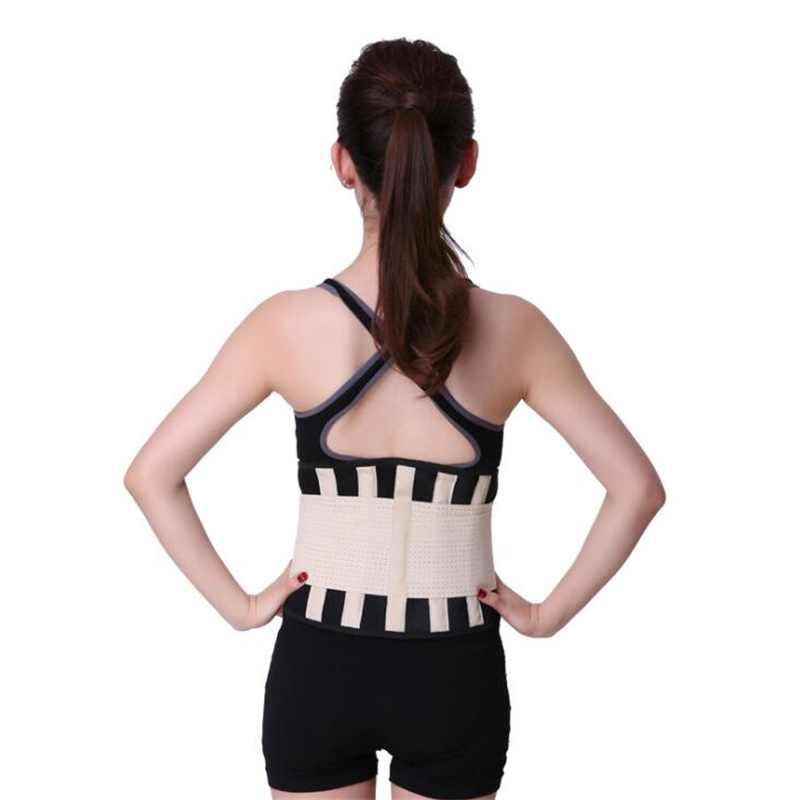 Erkekler neopren bel eğitmen destek Sauna takım elbise modelleme vücut şekillendirici kemer kilo kaybı Cincher Slim Faja spor salonu egzersiz korse