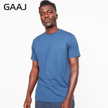 2019 100 Cotton T Shirt Men Short Sleeve 180gsm Linen Thick T-shirt Man Hip Hop Streetwear Harajuku Top Male Tee Tshirts 2XL 3XL(China)