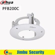 Staffa Dahua staffa di montaggio a soffitto PFB200C materiale: SECC e PC design pulito e integrato staffa per telecamera accessorio per telecamera IP