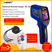 Snelle Levering Xeast Handheld Infrarood Thermometer Warmtebeeldcamera XE 26/XE 27/XE 28/XE 31/XE 32/XE 33