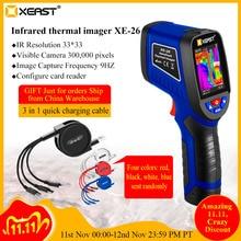 تسليم سريع XEAST يده درجة حرترة تحت الحمراء ميزان الحرارة الحراري تصوير XE 26/XE 27/XE 28/XE 31/XE 32/XE 33