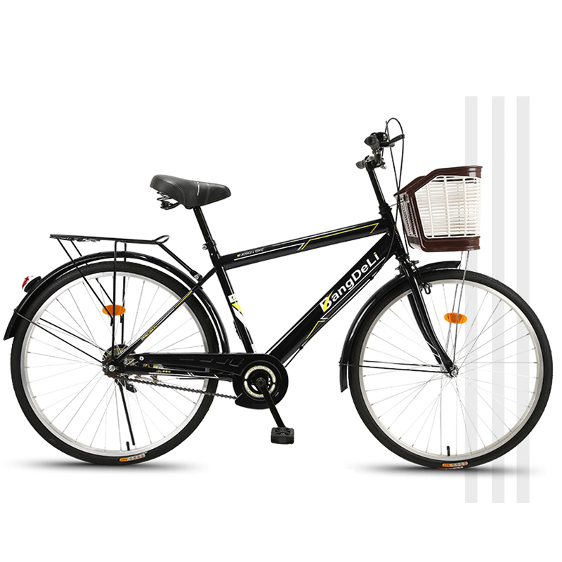 Bicycle Bike 26 Inch Men's Adult Fat Bike Commute Ordinary City Casual Retro Travel Light Students 2019 New