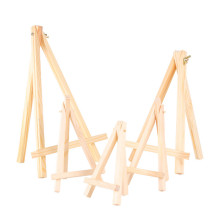 9*16cm  Wooden mini easel Stands Table Card Stand holder Small Picture Display for Home Party Wedding Decoration Easel
