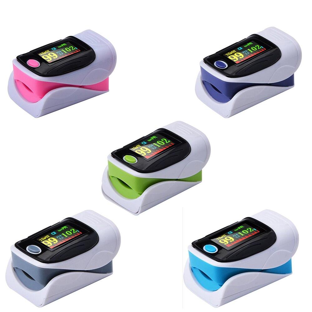 Monitor de oxígeno en sangre 5 30 unids/lote oxímetro de pulso para dedo oxímetro de saturación de oxígeno Monitor de ritmo cardíaco sin batería|Presión arterial|   - AliExpress