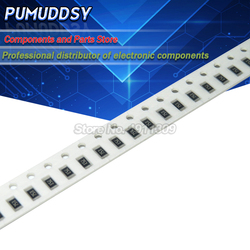 100 pçs 1206 smd resistor 390 ohm chip resistor 0.25w 1/4w 390r 391