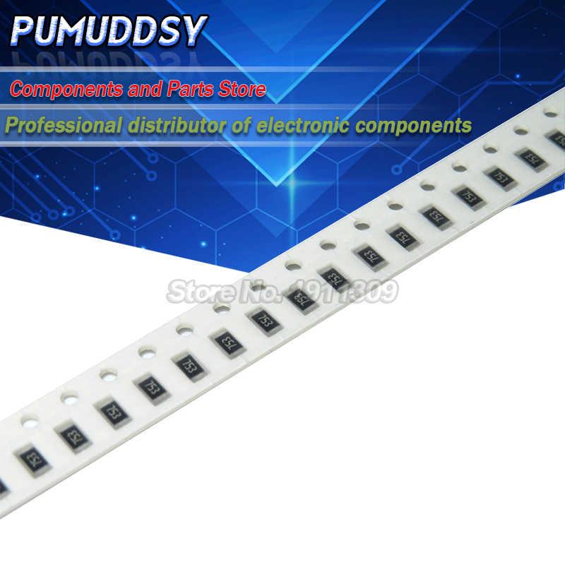 3216 100 Stück 820 Ohm 821 1206 5/% 1//4W 0,25W SMD Widerstände Chip Resistors