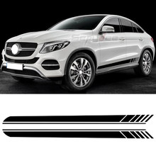 Edition 1 Door Side Stripes Sticker Decal For Mercedes Benz GLC Class X253 Coupe C253 GLC250 GLC300 GLC43 GLC63 AMG Accessories