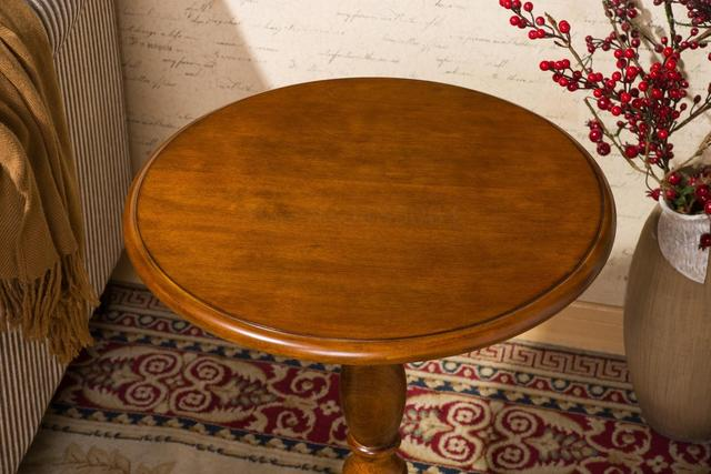 Round Side Sofa Table 2