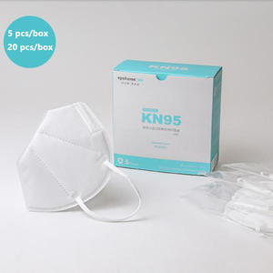 20 pcs KN95 Dustproof Face Mask PM2.5 95% Filtration 3 Filter Bacterial Protective N95 Mouth Mask Breathable KN95 Mask Cover