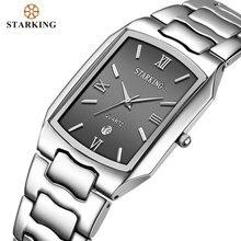 STARKING erkekler japon hareketi kuvars saatler İşadamları için 2020 varış moda rahat ünlü marka paslanmaz çelik İzle BM0605